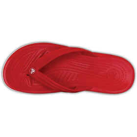 Crocs Crocband Sandales, pepper/white